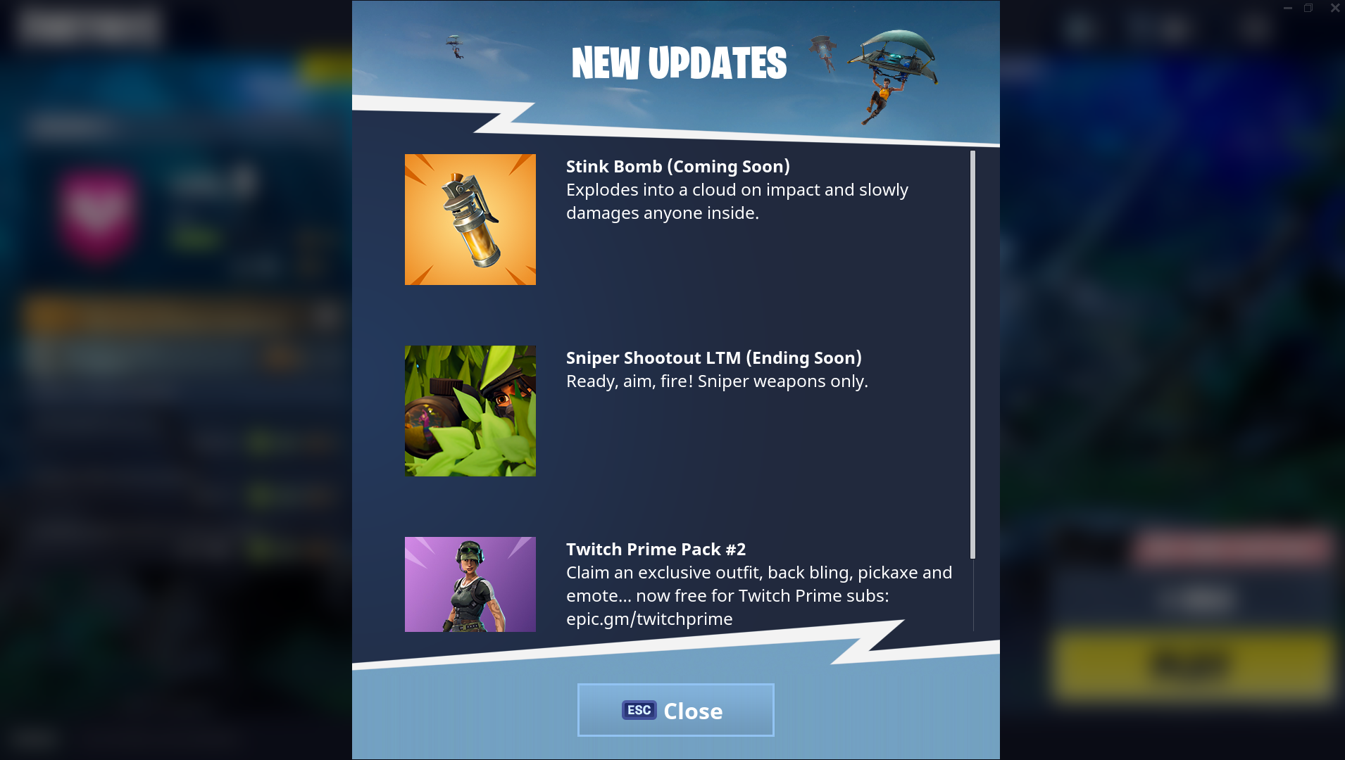 Stink Bombs Coming To Fortnite Battle Royale Along With Server