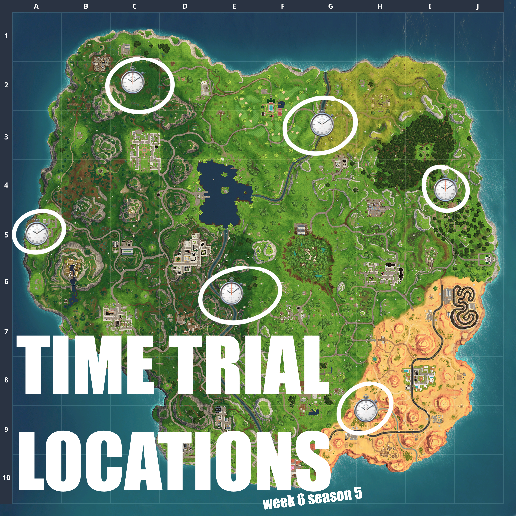 Here Are The Free Battle Pass Challenges For Week 6 Season 5 Of