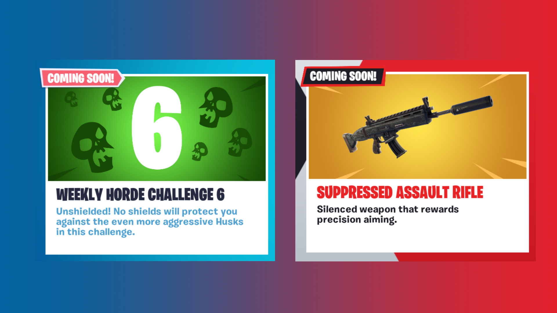 fortnite v5 4 content update lands tomorrow at 8 a m eastern here s what to expect fortnite news and statistics ss1 - fortnite silenced smg stats