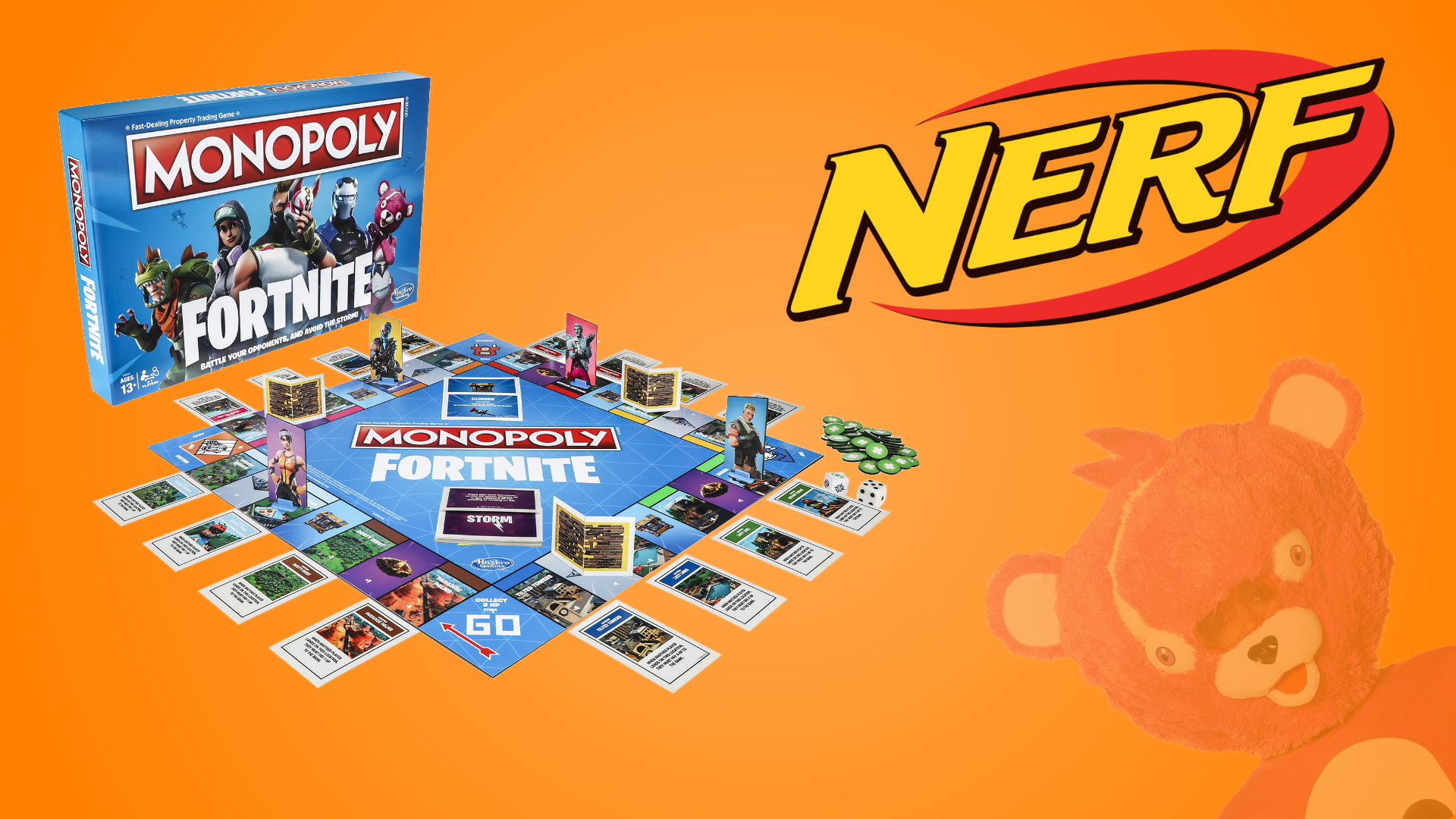 Fortnite Battle Royale Monopoly Nerf Guns Coming From Hasbro