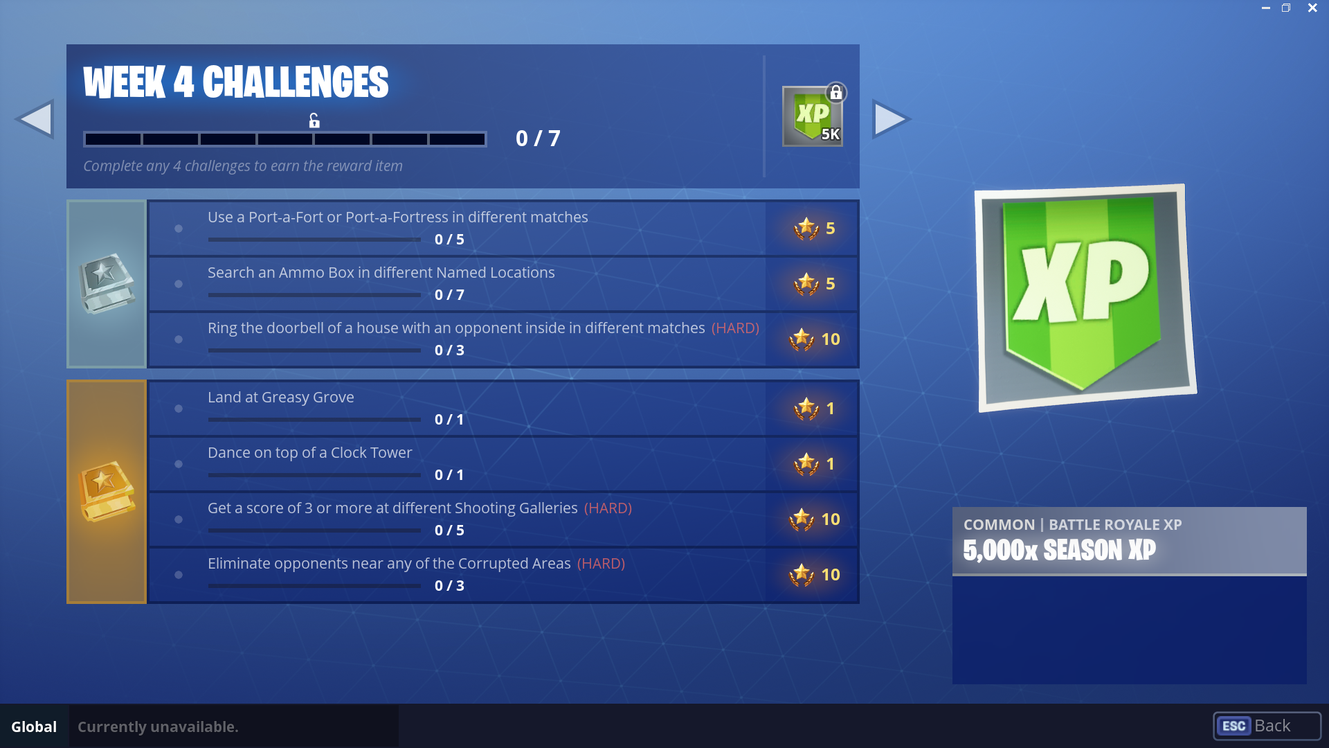 Free Battle Pass Challenges For Week 4 Season 6 Of Fortnite