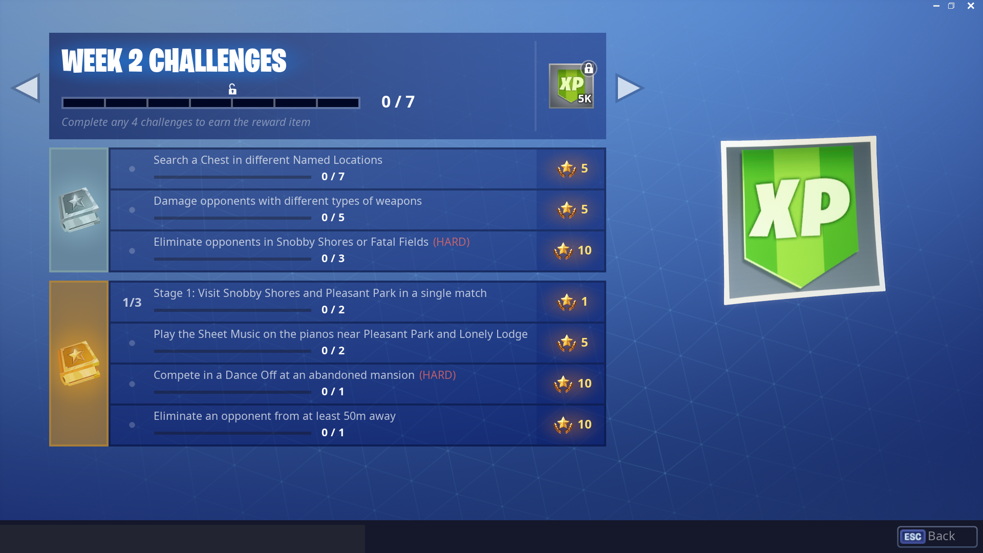 Battle Pass Challenges And Solutions For Week 2 Season 7 Of