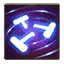 """Blessed Hammer: Activate to create <span class=""""value-color"""">2</span> hammers that spiral outward from Johanna, dealing <span class=""""value-color"""">87</span> damage to enemies hit.<br/><br/>Hitting Heroes with Shield Glare reduces the cooldown of this Ability by <span class=""""value-color"""">8</span> seconds."""