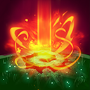 """Cleansing Flame: After <span class=""""value-color"""">1.25</span> seconds, take to the sky and drop 5 fireballs over <span class=""""value-color"""">6</span> seconds at the position of the mouse cursor. Fireballs deal <span class=""""value-color"""">140</span> damage to enemies and heal allied Heroes for <span class=""""value-color"""">312</span> Health.<br/><br/><span class=""""value-color"""">2.0</span> seconds after dropping all fireballs, Alexstrasza lands at the position of the mouse cursor."""