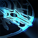 Blinding Flash: Enemies hit by the center area of Sacred Sweep are blinded for seconds.
