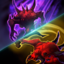 """Feast on Fear: Stunning an enemy Hero with Shadow Charge or Overpower heals Diablo for <span class=""""value-color"""">12</span>% of his maximum Health over <span class=""""value-color"""">3</span> seconds."""