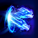 """Dragonstrike: After <span class=""""value-color"""">1.5</span> seconds, summon a pair of Spirit Dragons which travel forward, dealing <span class=""""value-color"""">73</span> damage every 0.25 seconds to enemy Heroes in its area.  Enemies in the center take <span class=""""value-color"""">50</span>% increased damage."""