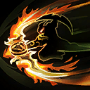 """Blades of Azzinoth: Hitting 5 Heroes with Sweeping Strike allows Blades of Azzinoth to be activated, increasing Basic Attack damage by <span class=""""value-color"""">75</span>% for <span class=""""value-color"""">8</span> seconds."""