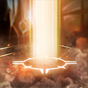 """Wrath of the Angiris: After <span class=""""value-color"""">0.75</span> seconds, charge in the target direction, lifting the first enemy Hero hit into the Heavens. While in the air, Imperius can steer the landing location by moving.<br/><br/>After <span class=""""value-color"""">2.00</span> seconds, slam the target into the ground, dealing <span class=""""value-color"""">390</span> damage and Stunning them for <span class=""""value-color"""">1</span> second."""