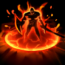 "Tempered Flame: When Blast Wave damages an enemy Hero, gain a Shield equal to 100% of the damage dealt for <span class=""value-color"">3</span> seconds."
