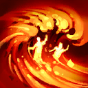 Lava Wave: Send a wave of lava down a lane