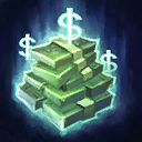 "Pixie Charm: Activate to consume <span class=""value-color"">20</span> stacks of Bribe to instantly defeat an uncaptured non-Elite Mercenary.<br/><br/>Passive: Gain 1 stack of Bribe when a nearby enemy Minion dies, and <span class=""value-color"">5</span> stacks when hitting an enemy Hero with Arcane Flare's center. Maximum <span class=""value-color"">80</span> stacks."