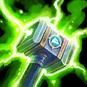 Rolling Thunder: Increases Chain Lightning range and attacks restore Mana