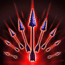 """Strafe: Rapidly attack enemies within <span class=""""value-color"""">10</span> range for <span class=""""value-color"""">62</span> damage per hit, prioritizing Heroes over Minions. Valla is able to move and use Vault while strafing. Lasts for <span class=""""value-color"""">4.0</span> seconds."""