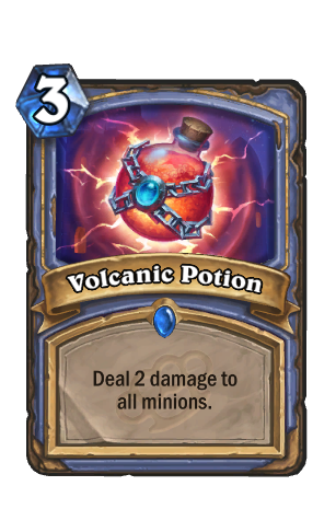 Image of Volcanic Potion Hearthstone Card