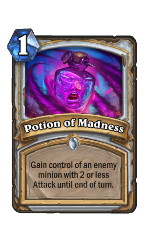 Image of Potion of Madness Hearthstone Card