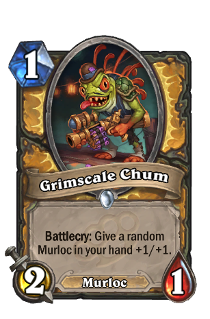 Image of Grimscale Chum Hearthstone Card