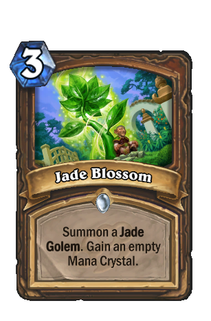 Image of Jade Blossom Hearthstone Card