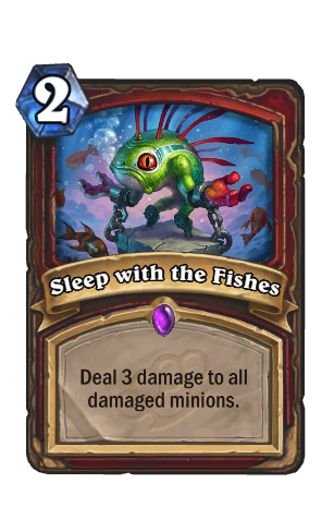 Image of Sleep with the Fishes Hearthstone Card