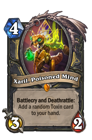 Image of Xaril, Poisoned Mind Hearthstone Card