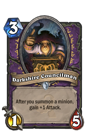 Image of Darkshire Councilman Hearthstone Card