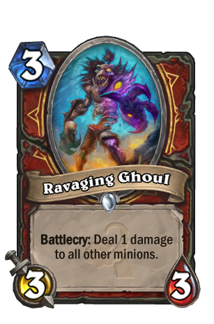 Image of Ravaging Ghoul Hearthstone Card