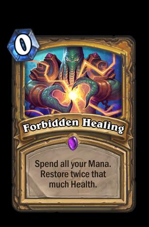 Forbidden Healing