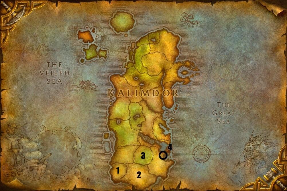 Hearthstone-Kalimdor-Map
